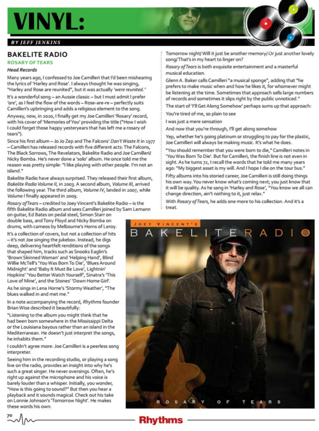 rhythms magazine review